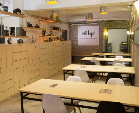 The loft co-working space in san po kong